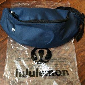 "Navy Lululemon ""belt bag"" or Fanny Pack. New."